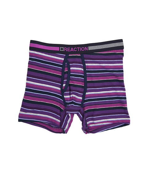 Kenneth Cole Reaction - Boxer Brief (Multi Stripe Purple) Men