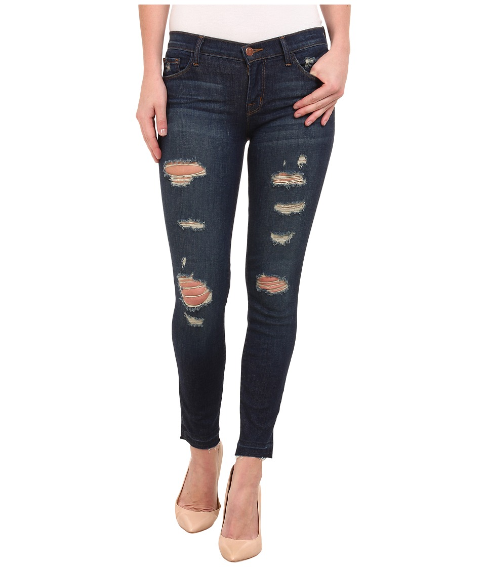 J Brand - Low Rise Ankle Crop in Demented Trouble (Demented Trouble) Women's Jeans