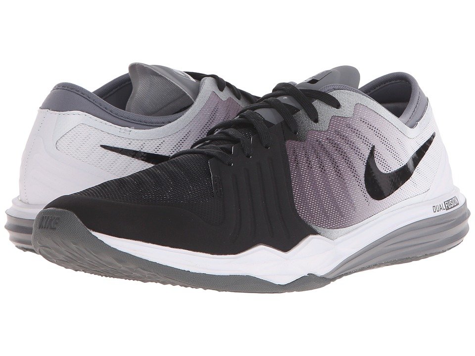 Nike - Dual Fusion TR 4 Print (Black/Cool Grey/White) Women's Cross Training Shoes