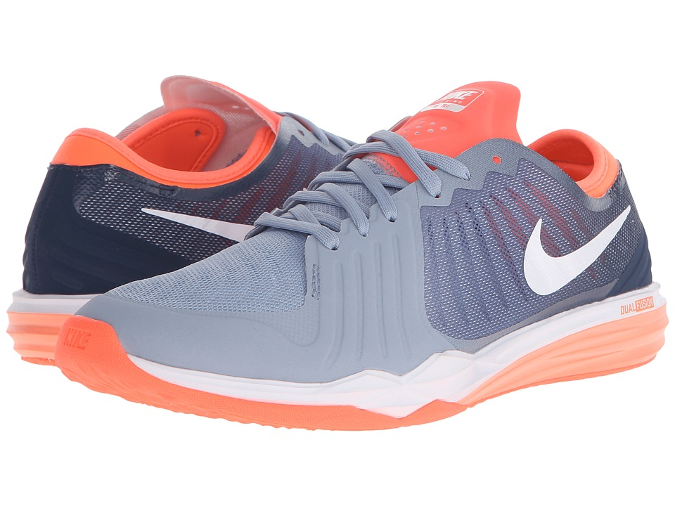 Nike Dual Fusion TR 4 Print (Blue Grey/Ocean Fog/Squadron Blue/White) Women