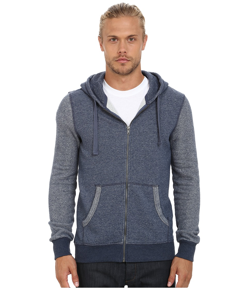Mavi Jeans - Zip-Up Hoodie (Indigo) Men's Sweatshirt