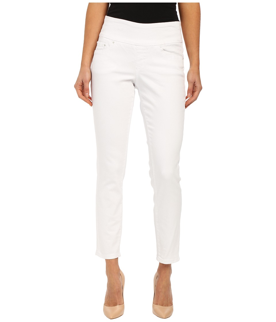 Jag Jeans - Amelia Pull-On Slim Ankle in White Denim (White) Women's Jeans
