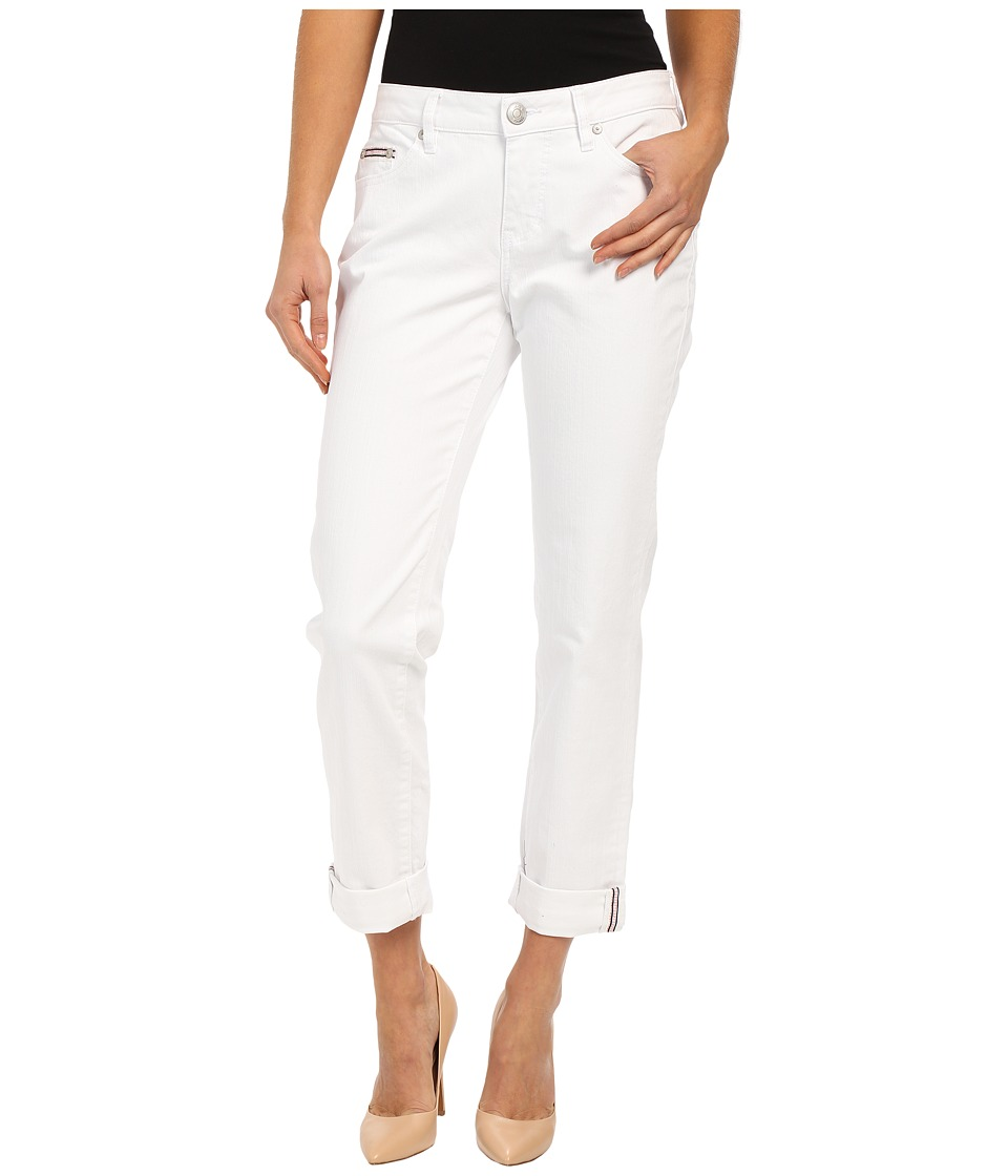 Jag Jeans - Henry Relaxed Boyfriend in White Denim (White) Women's Jeans plus size,  plus size fashion plus size appare