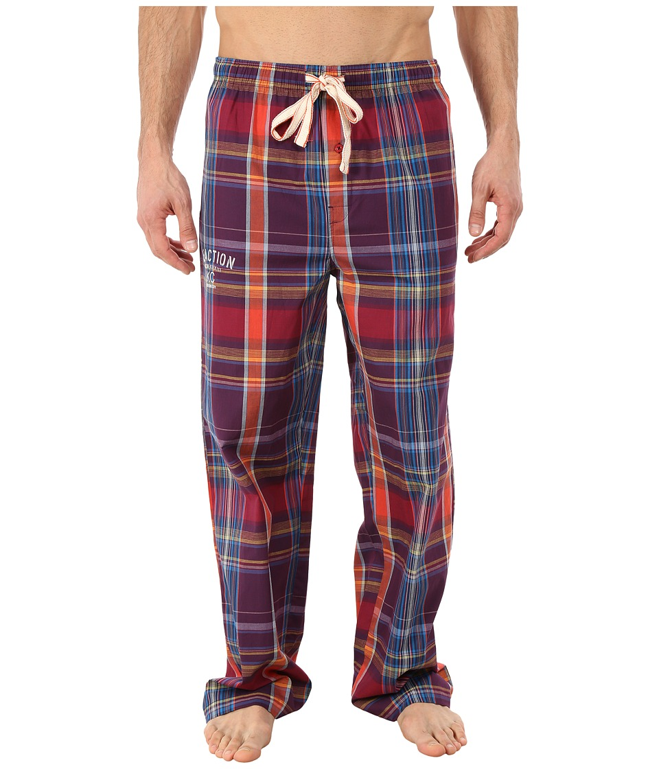 Kenneth Cole Reaction - Woven Sleep Pants (Red Hunter Plaid) Men's Pajama