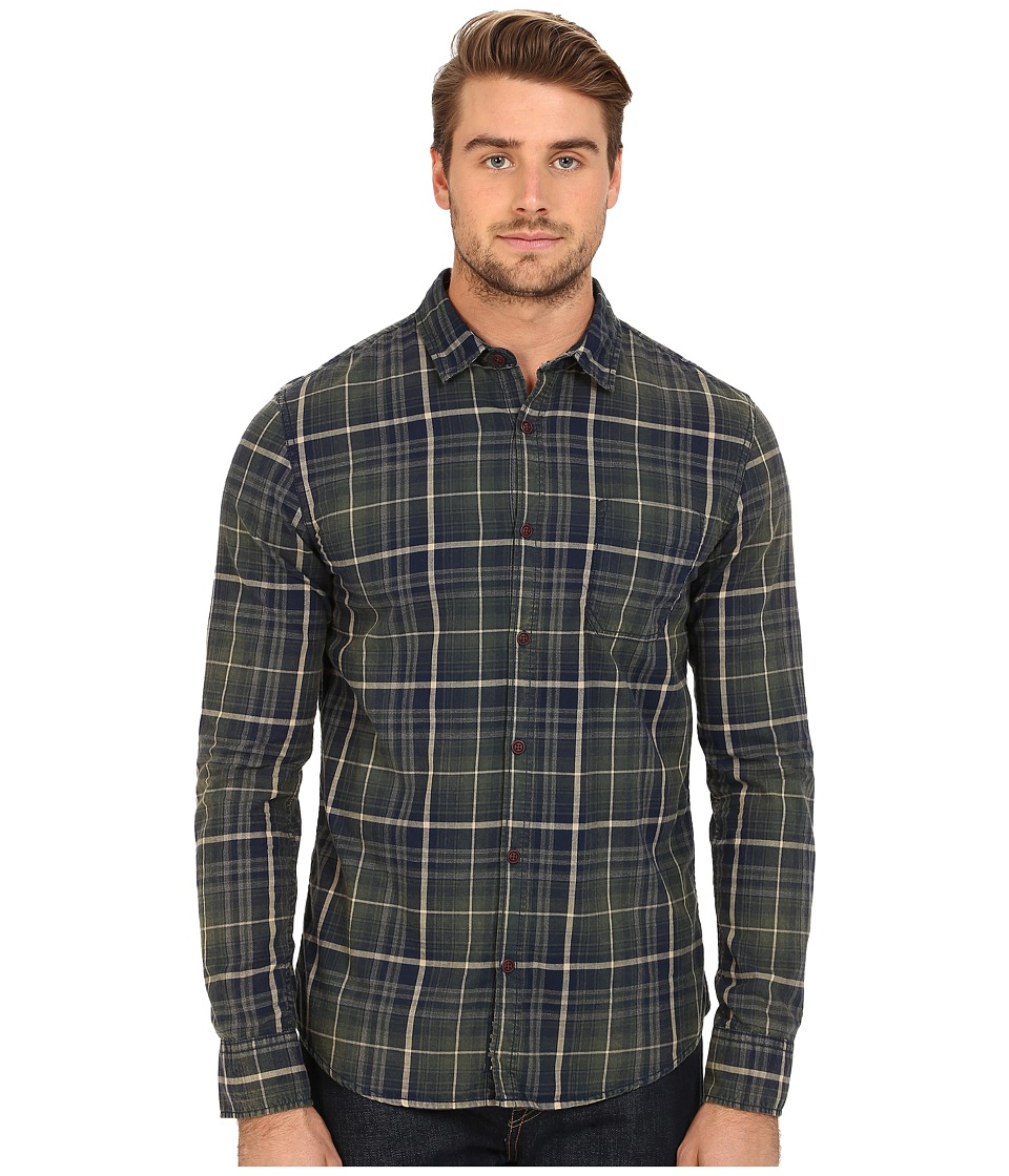 Mavi Jeans - Plaid Button Down (Green Gables Checked) Men's Long Sleeve Button Up