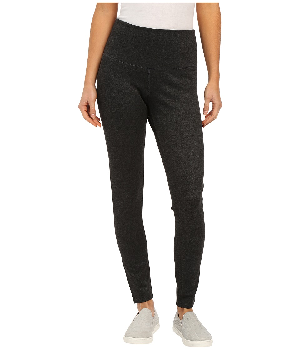 Jag Jeans - Huxley High Rise Leggings in Twill Ponte (Charcoal Heather) Women's Casual Pants