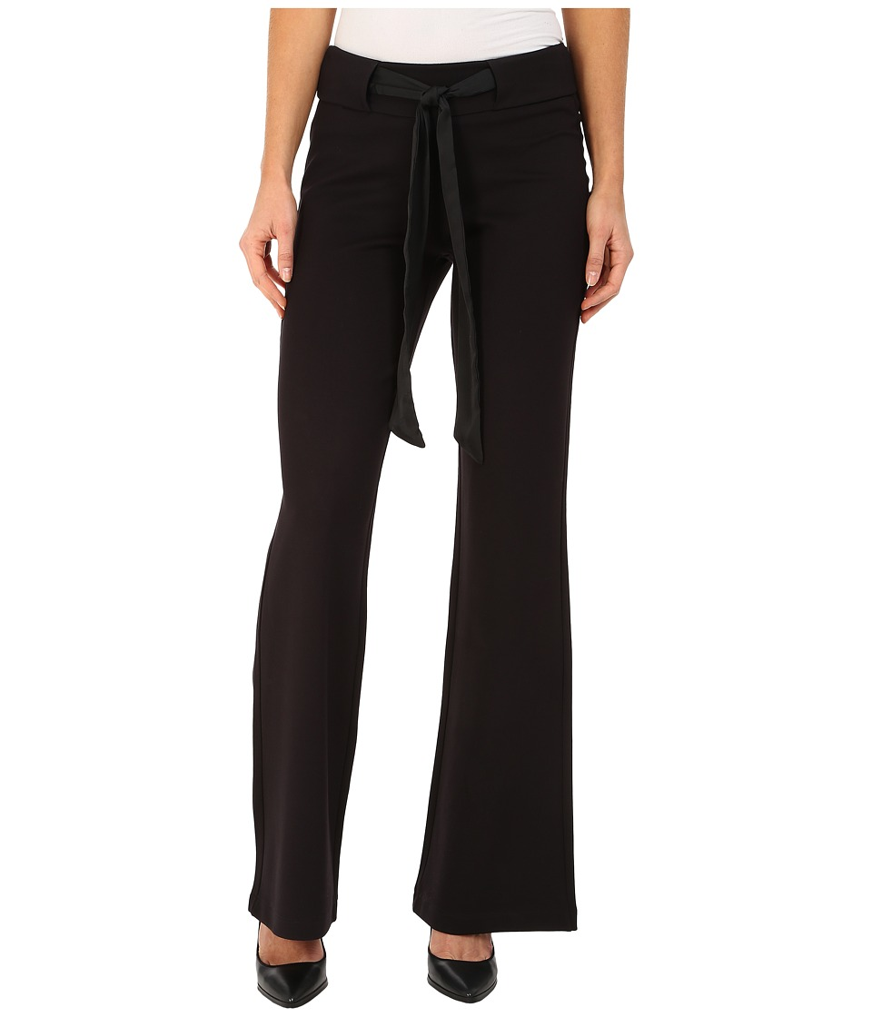 Jag Jeans - Cece Palazzo Wide Leg in Double Knit Ponte in Black (Black) Women's Casual Pants