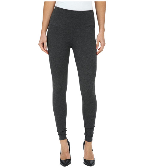 Jag Jeans - Huxley High Rise Leggings in Double Knit Ponte (Charcoal Heather) Women