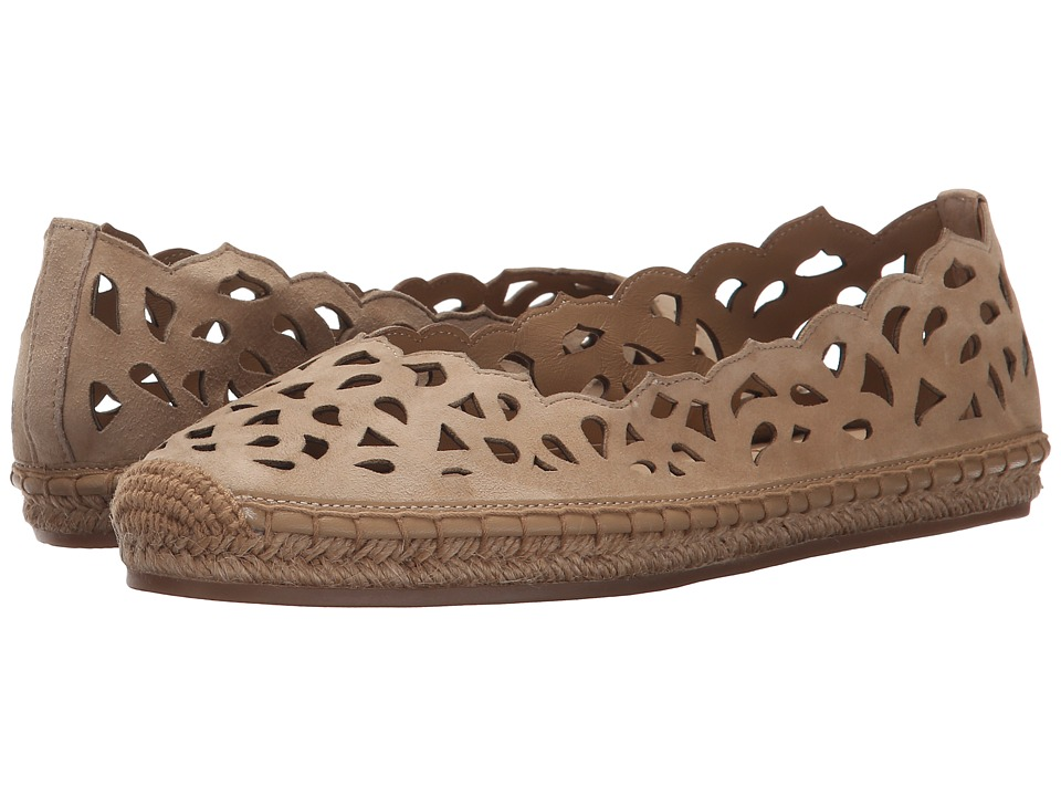 Via Spiga - Bellerose (Camel Kid Suede Leather) Women's Flat Shoes