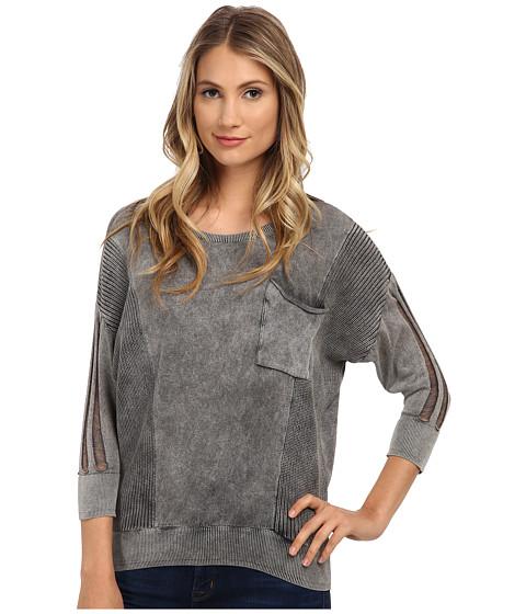 Mavi Jeans - Pocket Detailed Sweater (Black) Women's Sweater