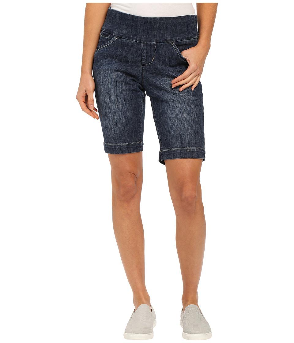 Jag Jeans - Ainsley Bermuda Classic Fit Comfort Denim in Anchor Blue (Indigo) Women's Shorts plus size,  plus size fashion plus size appare