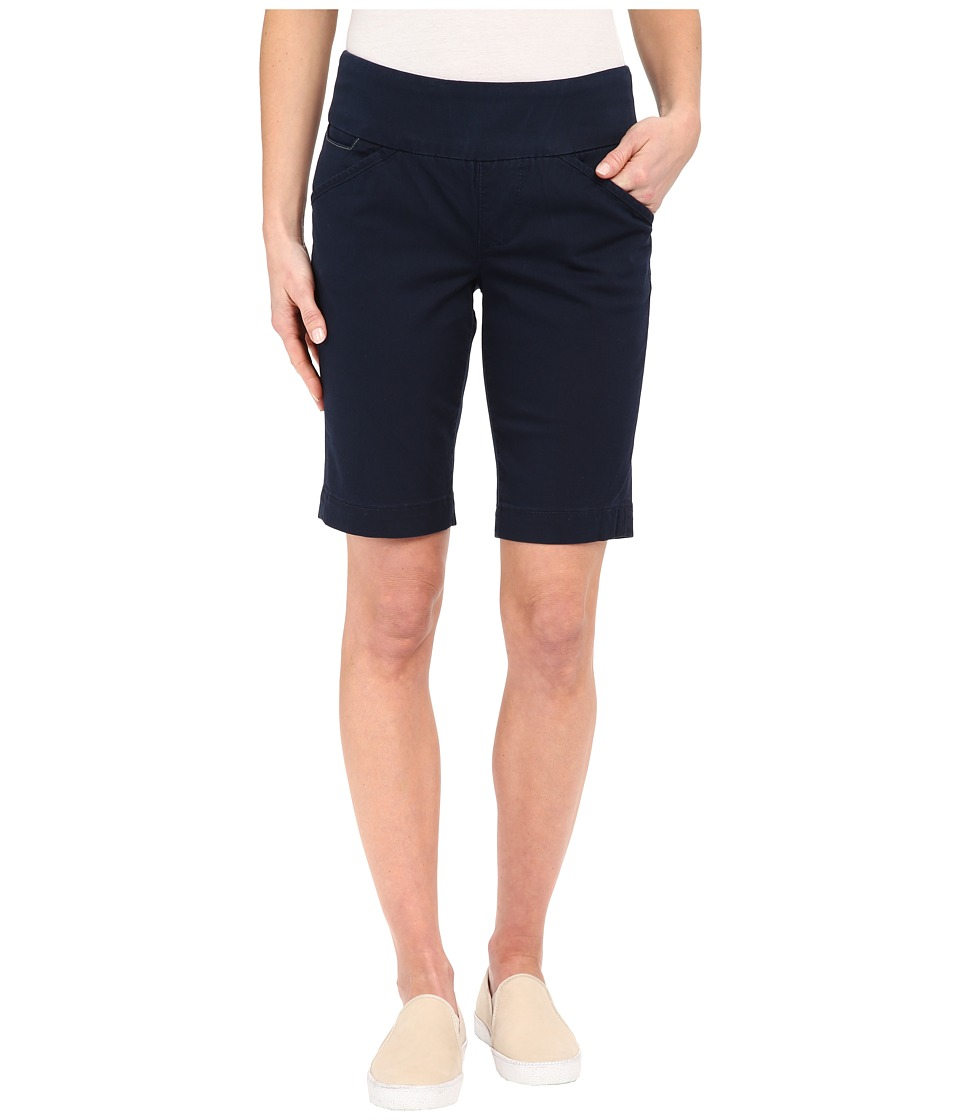 Jag Jeans - Ainsley Bermuda Classic Fit Bay Twill (Nautical Navy) Women's Shorts plus size,  plus size fashion plus size appare