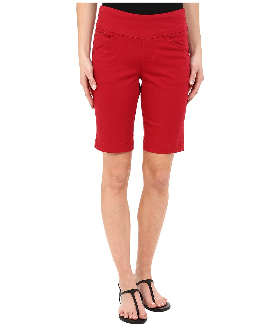 Jag Jeans - Ainsley Bermuda Classic Fit Bay Twill (Dark Poppy) Women's Shorts