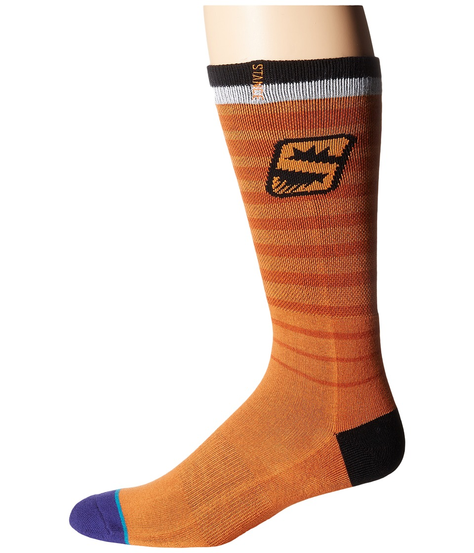 Stance - Suns Arena Logo (Orange) Crew Cut Socks Shoes