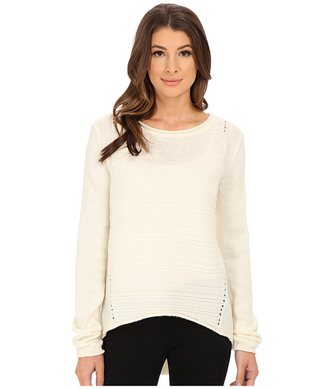 Jag Jeans - Boat Neck Drop Tail Sweater (Cotton) Women