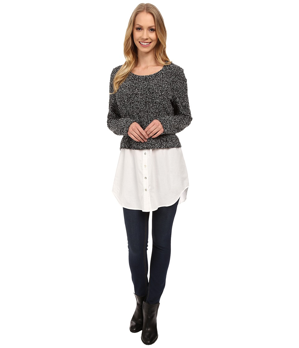 Jag Jeans - Louise Double Take Sweater (Black) Women