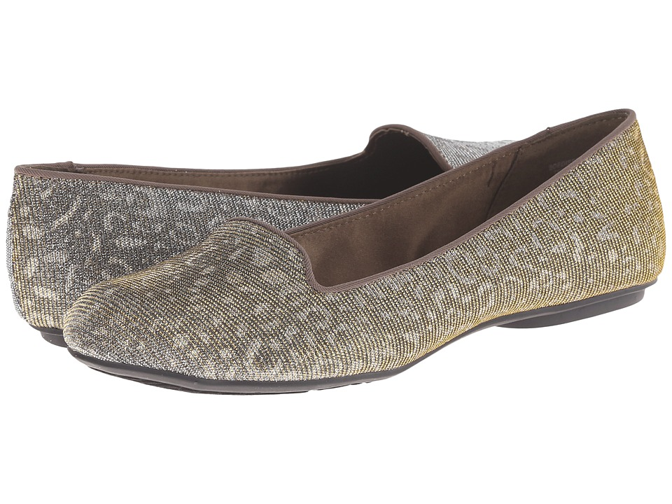 Bandolino - Edisson (Pewter Multi Fabric) Women's Toe Open Shoes