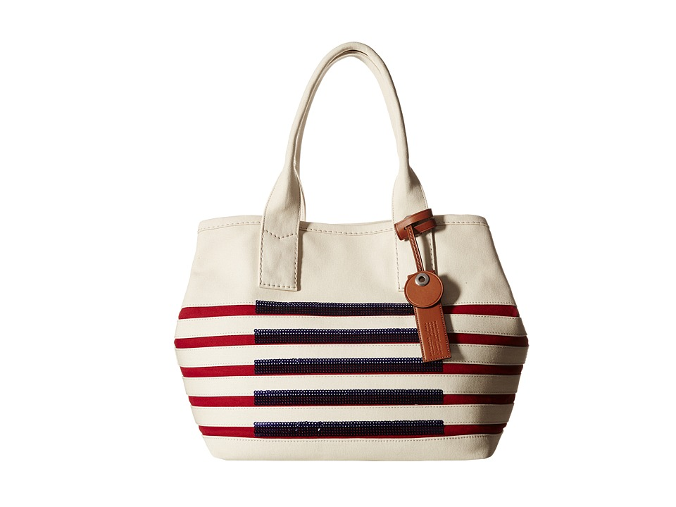 Marc by Marc Jacobs - St Tropez Beach Tote (Ecru/Breton Red) Tote Handbags