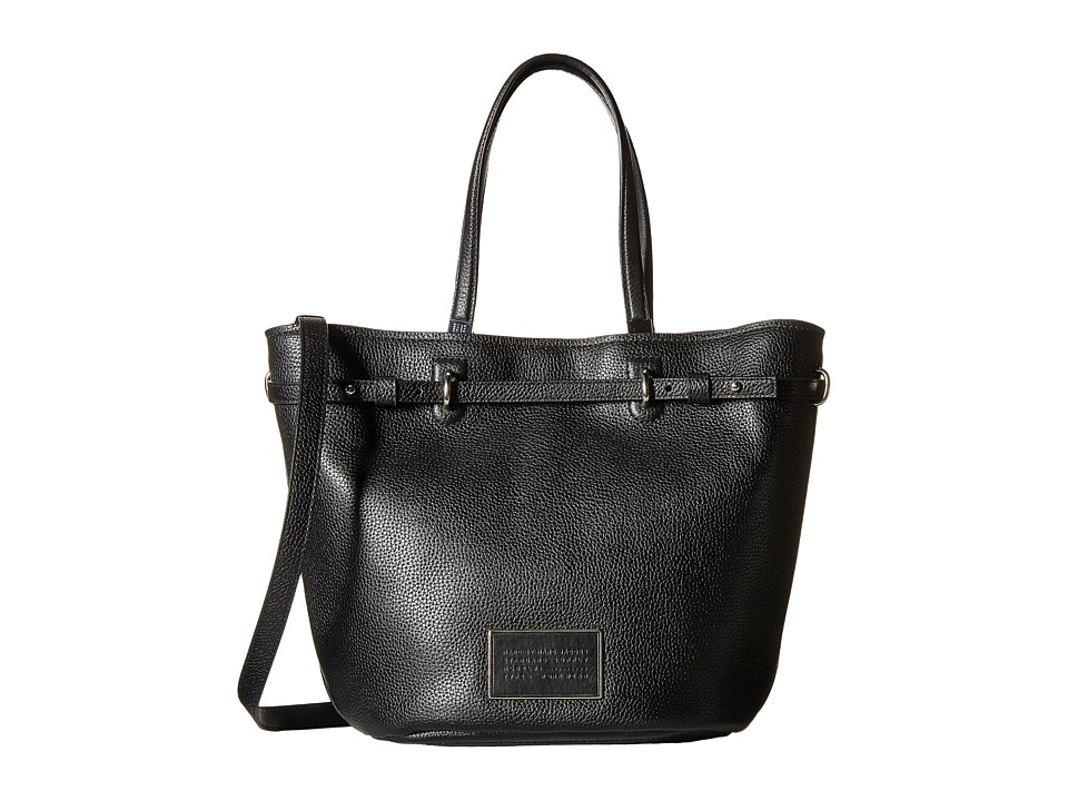 Marc by Marc Jacobs - Ligero Flower Tote (Black) Tote Handbags