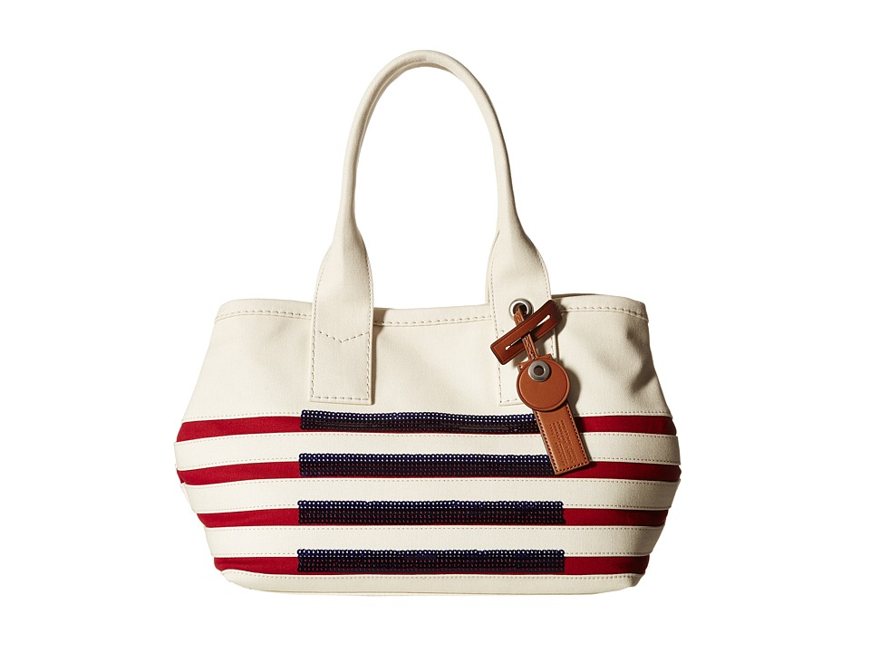 Marc by Marc Jacobs - St Tropez Tote (Ecru/Breton Red) Tote Handbags