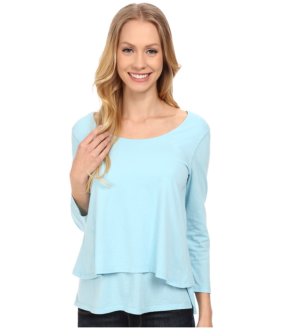 Mod-o-doc - Supreme Jersey Double Tier Top (Blue Frost) Women's T Shirt