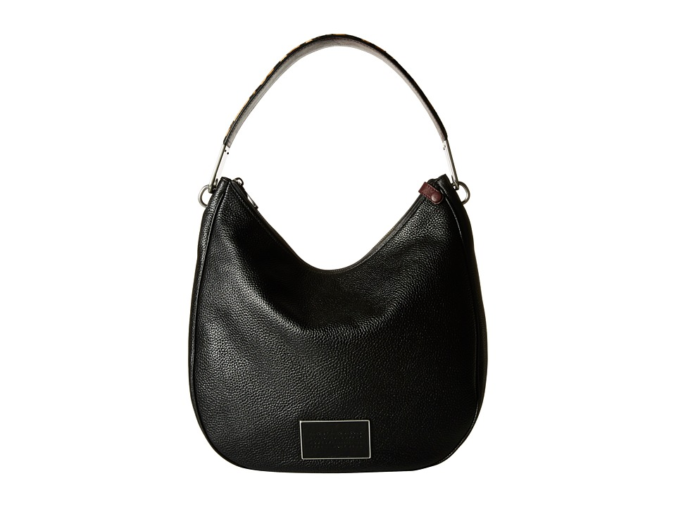 Marc by Marc Jacobs - Ligero Leopard Hobo (Black Multi) Hobo Handbags