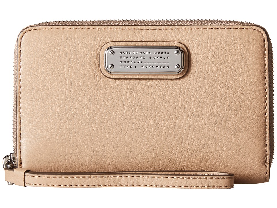 Marc by Marc Jacobs - New Q Wingman (Cameo Nude) Clutch Handbags
