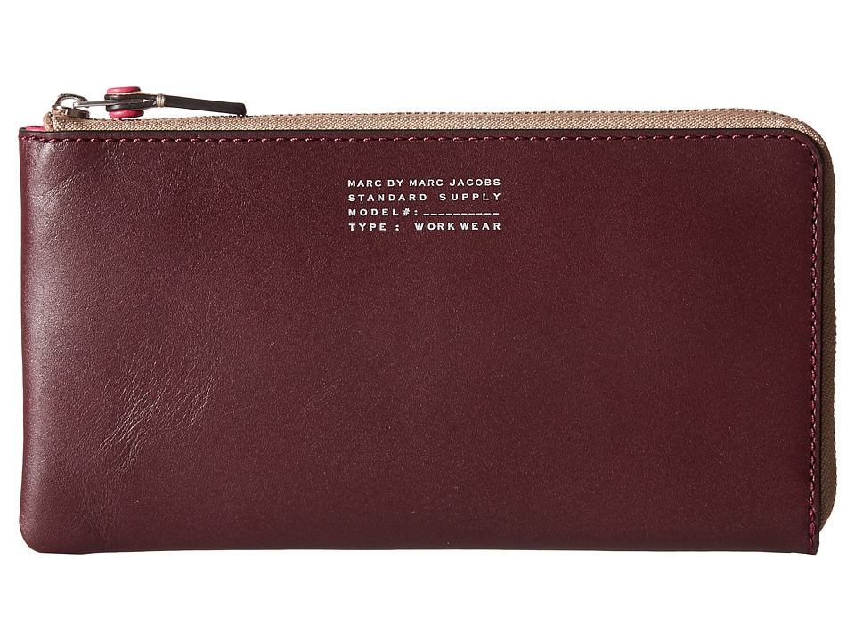 Marc by Marc Jacobs - Quintessential Color Blocked Peggy (Cardamom Multi) Clutch Handbags