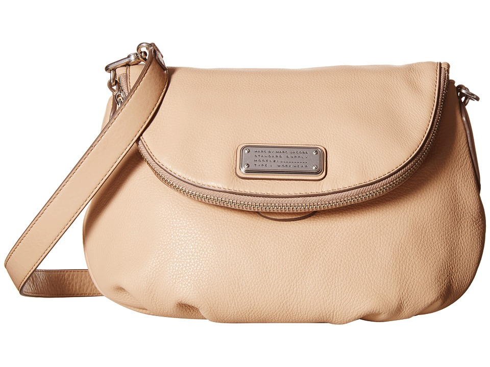 Marc by Marc Jacobs - New Q Natasha (Cameo Nude) Cross Body Handbags