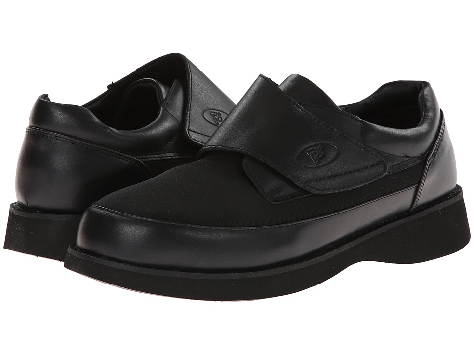 Propet - Pedwalker 15 Medicare/HCPCS Code=A5500 Diabetic Shoe (Black) Men's Shoes
