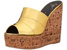 Open Toe Slip-On Wedge