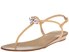 Demi Wedge Sandal with Crest