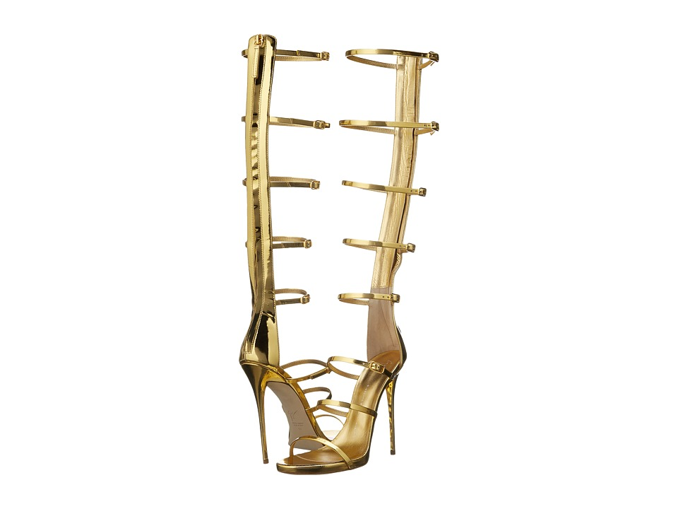 Giuseppe Zanotti - Strappy Knee High (Shooting Oro) Women's Shoes
