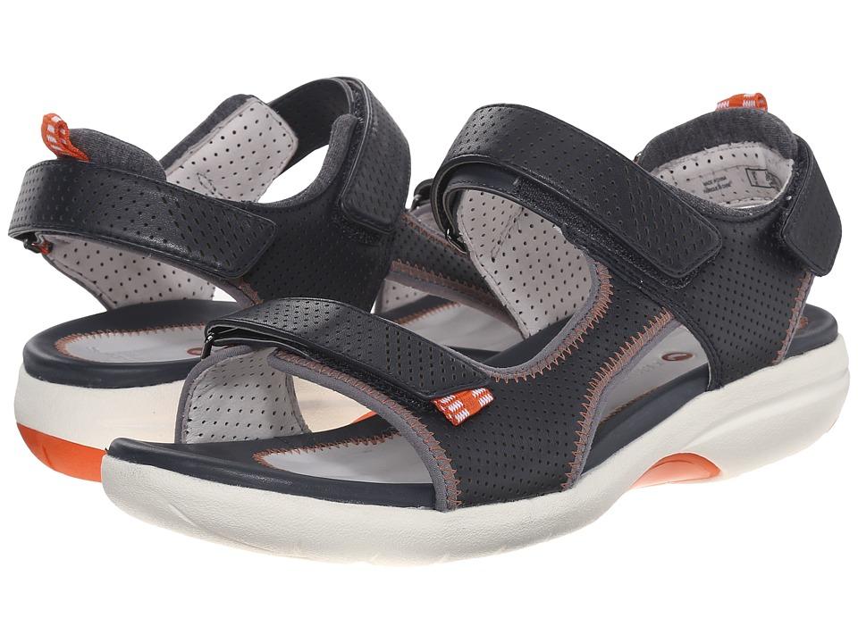 Clarks - Un Neema (Navy) Women's Sandals