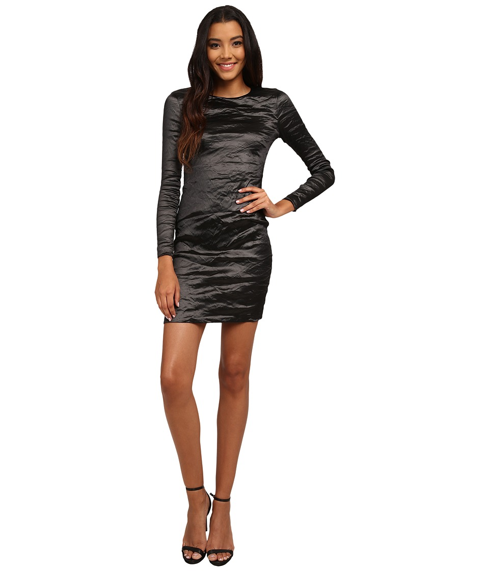 Nicole Miller - Mercedes Metal Dress (Black) Women's Dress