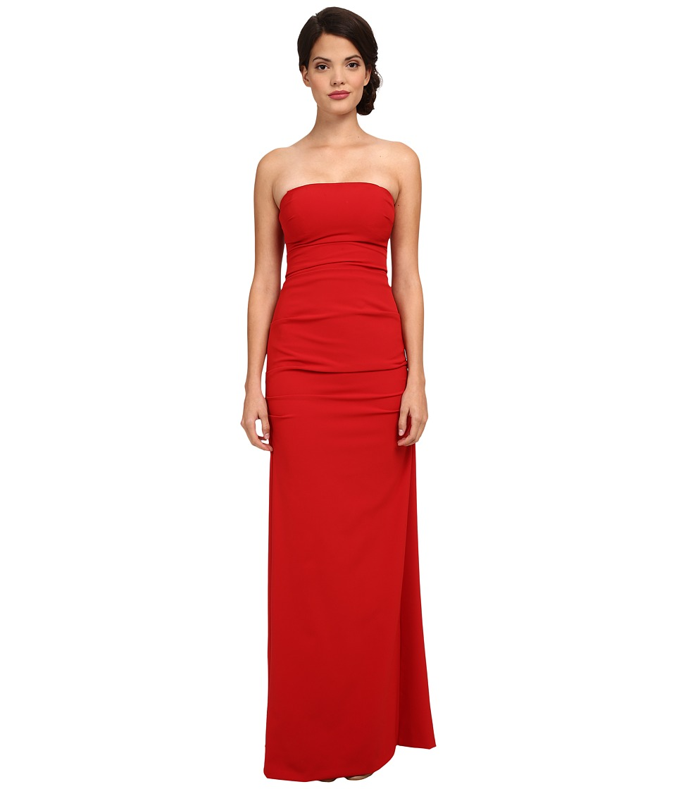 Nicole Miller - Felicity Strapless Gown (Red) Women's Dress