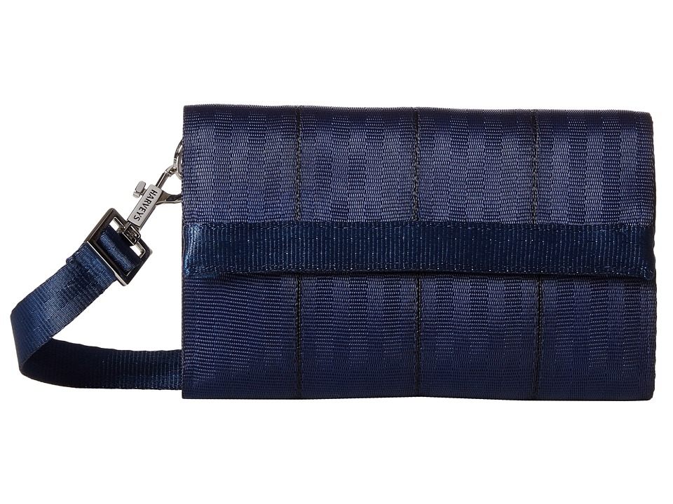 Harveys Seatbelt Bag - Streamline Wallet (Indigo) Bill-fold Wallet