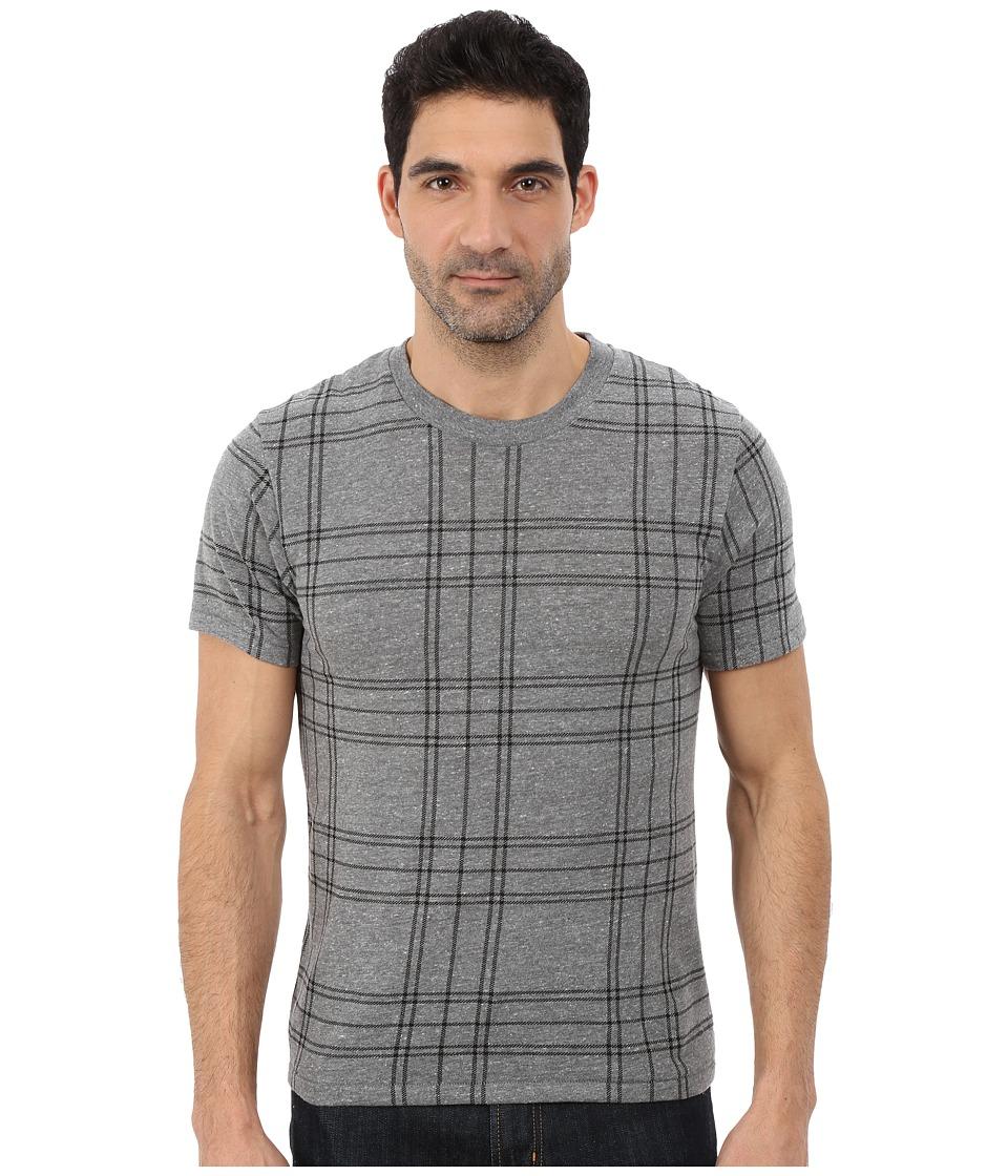 Alternative - Eco Crew T-Shirt (Eco Grey Plaid) Men's T Shirt