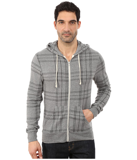 Alternative - The Rocky (Eco Grey Plaid) Men's Sweatshirt