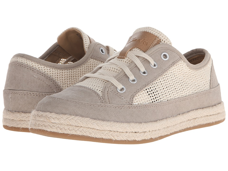 Clarks - Azella Prosper (Natural Mesh) Women's Lace up casual Shoes