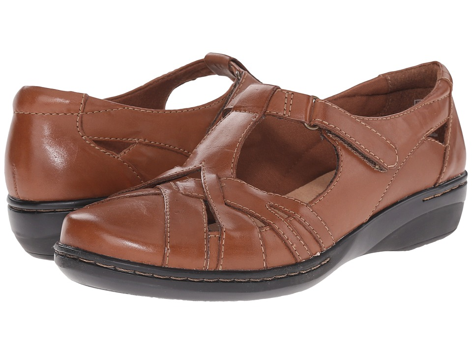Clarks - Evianna Doyle (Tan Leather) Women's Shoes