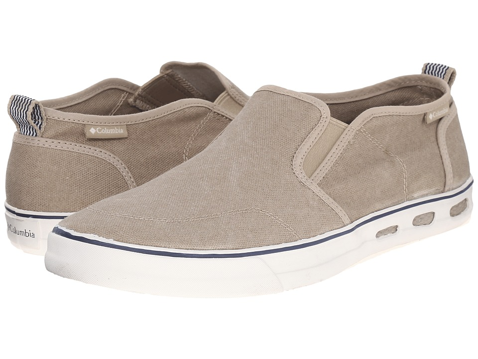 Columbia - Vulc N Vent Slip (Silver Sage/Sea Salt) Men's Shoes