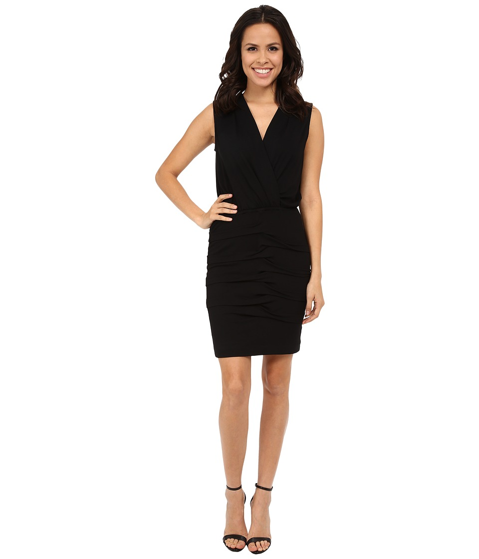 Nicole Miller Hemmingway Jersey Dress (Black) Women