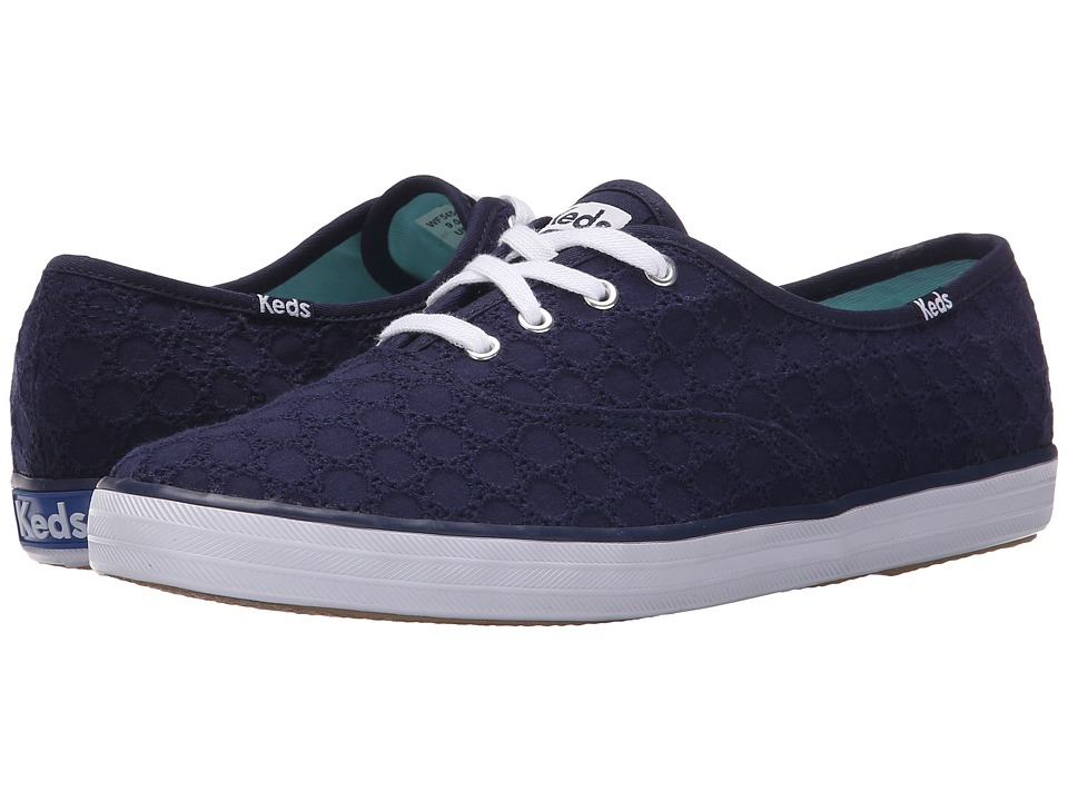Keds - Champion Eyelet (Navy 1) Women's Lace up casual Shoes