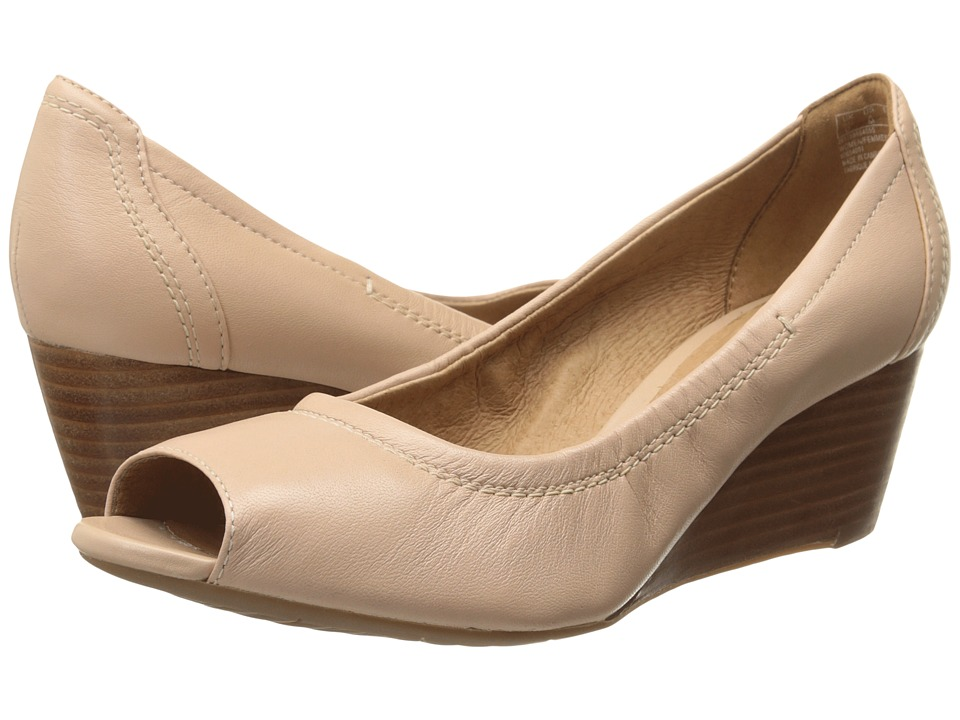Clarks Burmese Art (Blush Pink Leather) Women