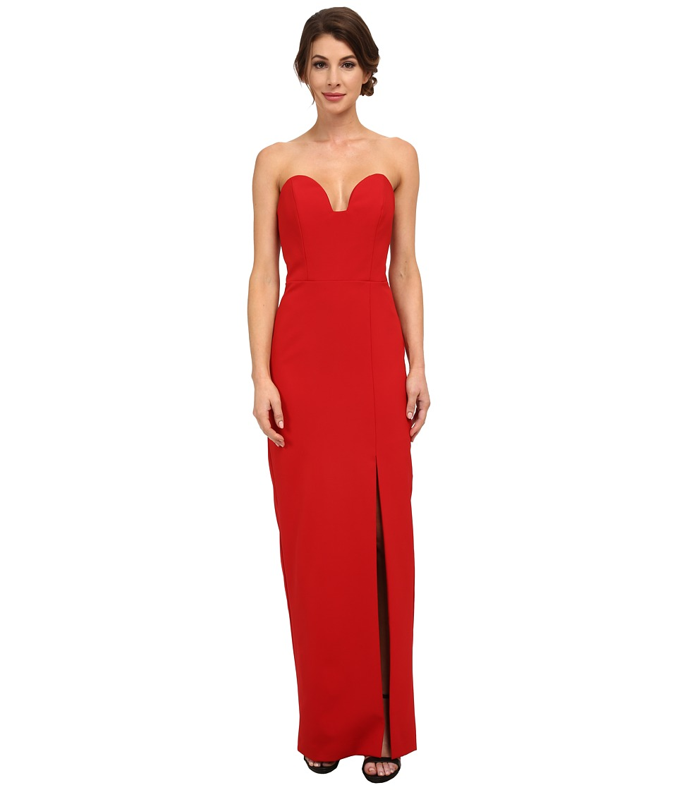 Nicole Miller - Casey Bustier Gown (Lipstick Red) Women's Dress
