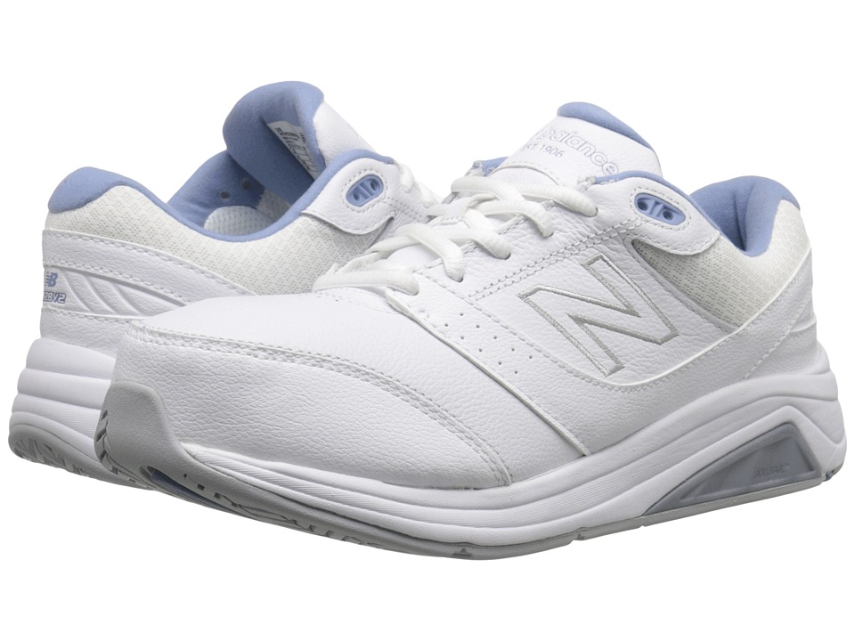 New Balance - WW928v2 (White/Blue) Women's Walking Shoes