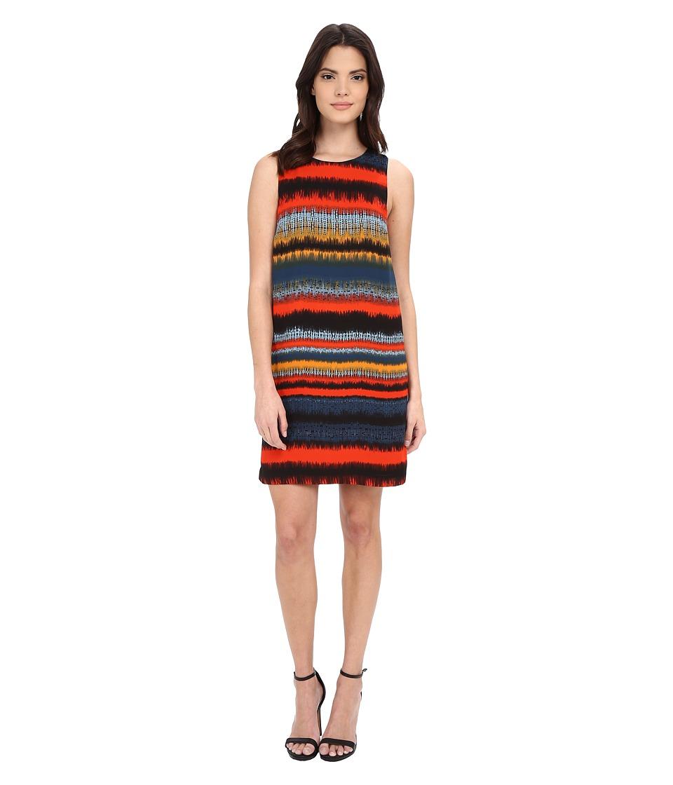 kensie - Noisy Stripes Dress KS1K7809 (Slate Blue Combo) Women's Dress