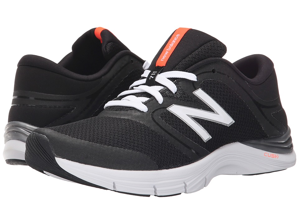 New Balance - WX711v2 (Black/White 2) Women's Cross Training Shoes