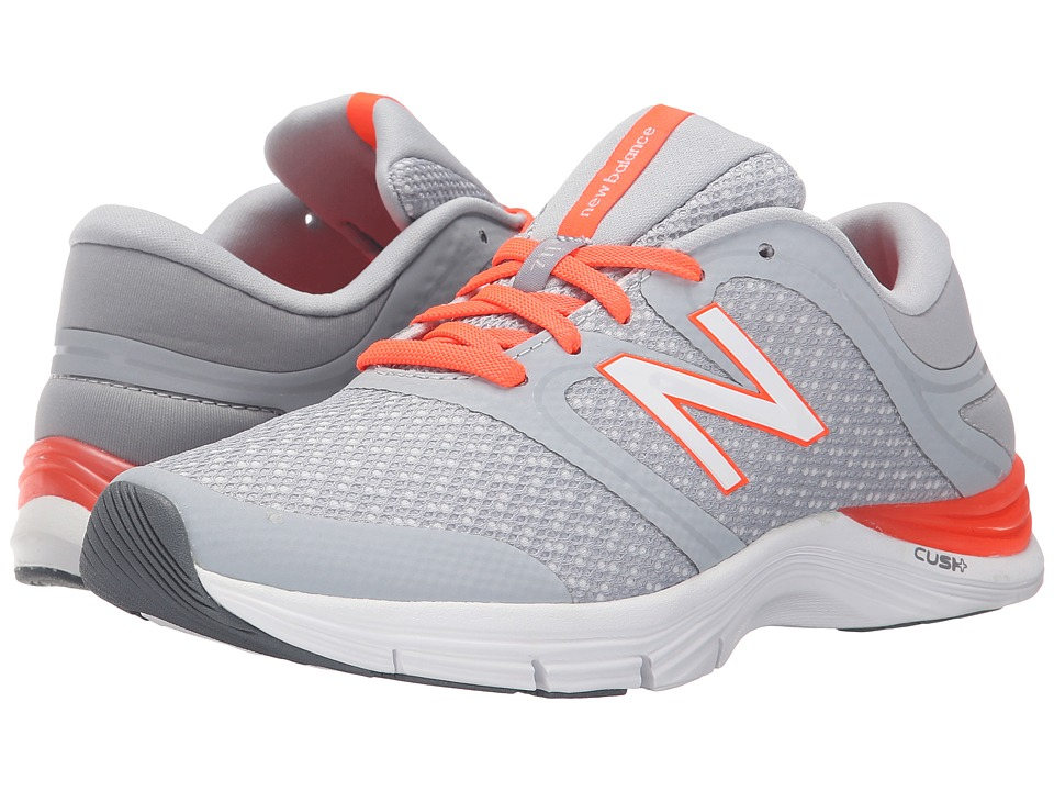 New Balance - WX711v2 (Silver/Red) Women's Cross Training Shoes